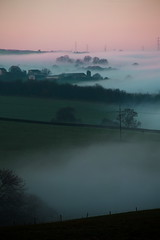 Middlestown moring (Claire Maw Photography) Tags: morning autumn misty canon december hills wakefield muted 6d ef24105 middlestown vision:beach=0534 vision:outdoor=0727 vision:ocean=0596