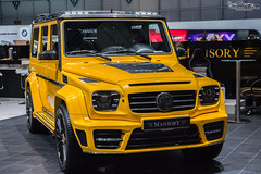 Gronos (Francesco Carlo | Automotive Photographer) Tags: auto show yellow digital canon eos geneva twin turbo 1750 beast 28 tamron amg unnoticed v12 mansory 650d g65 gronos