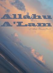 Allahu A'Lam (gLySuNfLoWeR) Tags: blue sea clouds muslim islam faith aegean best muslimah allah iman