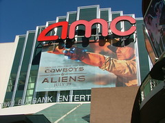 Entertainment, Cowboys and Aliens at AMC Burbank, Mesh Banner