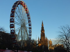 Different Point of View (th1stleandr0se) Tags: christmas street new monument wheel st scott square scotland big high edinburgh andrews view year princes height hogmanay hugmanay