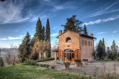 La Farfalla - HDR (bohnengarten) Tags: italien italy eos la san italia via pisa toscana farfalla toskana miniato oliven provinz francigena 70d