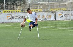 Futbolistas Teletn derrochan talento en torneo amistoso (Teletn) Tags: football soccer disabled crutches amputee teleton legamputee