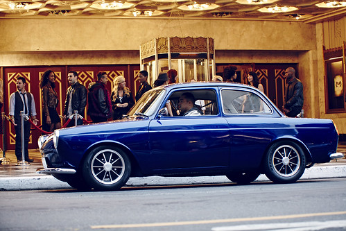 Celebrity Photographer drives 1965 Type 3 Notchback
