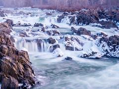 Cold Morning along the Potomac at Great Falls (jiroseGH3) Tags: lumix virginia washingtondc greatfalls rapids panasonic g5 waterfalls rivers micro potomac 43 m43 panasoniclumix dmcg5 panasonicg5 panasoniclumixdmcg5