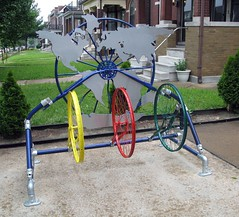 Bike Racks made with Kee Klamp