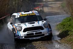 TOUQ6428.jpg (Maxime Malet) Tags: mars 6 france rally rallye cfr 2014 pasdecalais pierreroche touquet championnat sportautomobile frenchchampionship minijohncooperworks teamfj a8w martineroche maximemalet 1remanche malophotos