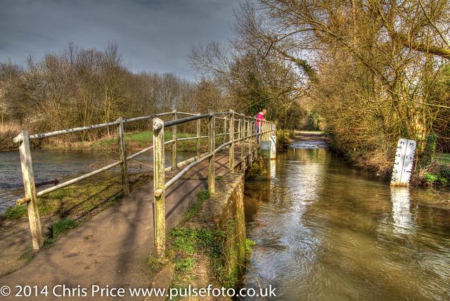 The River Blackwater at Eversley