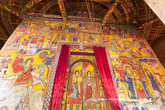 Asua Mariam Monastery, Zege Peninsula, Lake Tana, Amhara Region, Ethiopia (Ulrich Mnstermann) Tags: africa door city house church mural kirche haus afrika ethiopia huis kerk tr deur laketana buildingslandmarks zegepeninsula amhararegion  asuamariammonastery