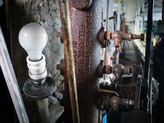 P1050242 (lewisfrancis) Tags: abandoned lightbulb hospital pa asylum urbex heatingplant
