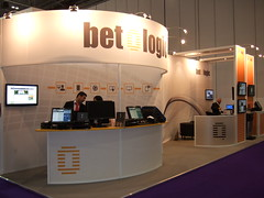 Betologic - 10.5x3.5m - ICE totally gaming (Statement Exhibitions) Tags: uk greatbritain design exhibition gaming event statement brand branding gbr custombuild exhibitionstand exhibitionstands custommodular betologic statementexhibitions
