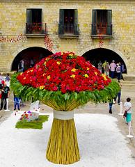El ram gegant / Giant buquet (SBA73) Tags: giant spring big colours catalonia girona huge catalunya bouquet colourful lovely ram ramo catalua catalogna 2014 katalonien catalogne girons tempsdeflors buquet