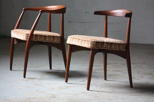 Scene Stealing Lawernce Peabody Mid Century Modern Dining Chairs For  Richardson Nemschoff (U.S.A., 1960s
