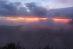 Sunrise at Mt Batur (emmmfraser) Tags: bali mountain fog clouds sunrise indonesia volcano mt view hike active batur