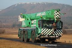 James Jack Mobile Crane Liebherr LK58 HGL (Kilmachalmag) Tags: truck trucks a9 lorries cnoc rossshire lorrys alness truckimages fyrish truckpictures alnesspoint lorryphotos