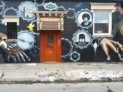 Halsey Street Dreamway (Trish Mayo) Tags: streetart art graffiti urbanart bushwick halseystreet dreamway noncoloursincolour thebestofday gününeniyisi