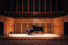 James Beckwith (jamesturner) Tags: portrait london canon photography lights hall concert gig hamburg performance piano grand classical technician tune kingscross tuning steinway steinwayandsons kingsplace 5dmkii