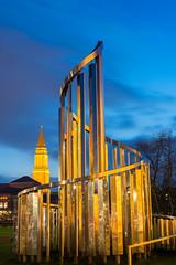 Kunst (rahe.johannes) Tags: architektur kiel blauestunde
