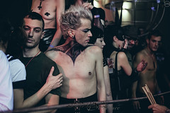 Aesthetic Meat Front @ Qubò Decadence, 6/2/2015