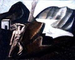 IMG_5690CB Mario Sironi. 1885-1961. Milan. (jean louis mazieres) Tags: museum painting muse peinture firenze museo italie peintres mariosironi museflorencenovecento