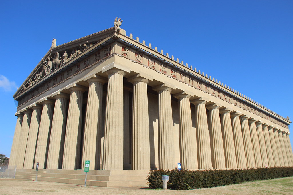 Parthenon, Nashville, TN by Gary Lee Todd, Ph.D., on Flickr