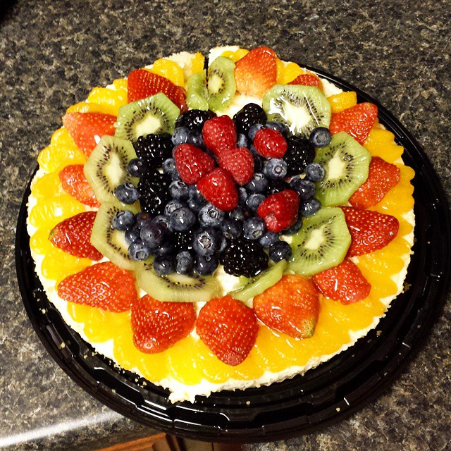 Cheesecake for the Super bowl from #kroger.  #dessert #delicious #cheesecake