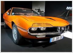 Alfa Romeo Montreal coup Bertone 1971 (Aerofossile2012) Tags: paris sport 1971 automobile montreal voiture salon alfaromeo carshow mondial 2014 bertone
