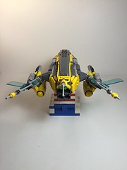"Lego. Long Range gunship ""the Otter"" (vikingforhire) Tags: starwars lego scifi gunship starfighter gunboat"