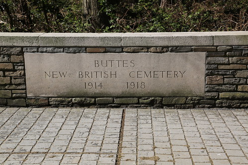 Buttes British Cemetery Polygon Wood.