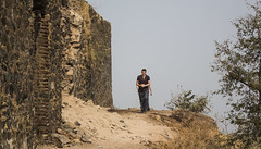 cmon boys keep up! (Tin-Tin Azure) Tags: world india heritage temple unesco archaeological mata gujarat pavagadh kalika champaner
