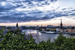Behind the lilac arbor (kaffealskare) Tags: sky water stockholm veniceofthenorth capitalofsweden attackfoto