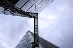 The Bridge (p.niebergall) Tags: bridge sky tower skyscraper himmel hochhaus wolkenkratzer skywalk lvm