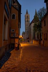 Rothenburg ob der Tauber, blaue Stunde 2/2
