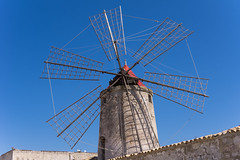 Salt flats, Trapani, Sicily (Ken Barley) Tags: italy windmill sicily saline saltflats trapani