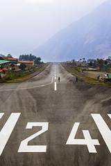 Lukla airport (gthulin) Tags: nepal asia mount kathmandu everest bazar lukla namce