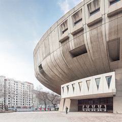 L'Auditorium de Lyon (Chimay Bleue) Tags: france architecture de design la lyon modernism part brutalism modernist brutalist dieu brutal midcenturymodern midcentury quartier mcm lyonnais pottier delfante