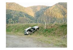 (harald wawrzyniak) Tags: mamiya film car analog austria kodak crash accident scan medium format analogue harald portra 120mm styria 2016 645af wawrzyniak