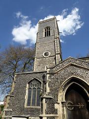 St Clements Church, Ipswich. (Richie Wisbey) Tags: church saint st docks suffolk churches flint locked clements ipswich clement