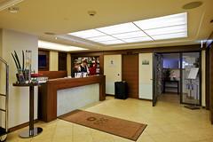 Reception desk (A. Wee) Tags: hotel switzerland zurich lobby reception sheraton    neuesschloss