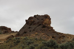 Holey knob on Day 3 (rozoneill) Tags: lake oregon river carlton butte desert hiking painted canyon vale trail backpacking saddle blm uplands owyhee honeycombs