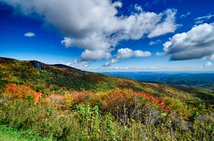 Springtime at Scenic Blue Ridge Parkway Appalachians Smoky Mountains (DigiDreamGrafix.com) Tags: old flowers trees sunset sky usa mountain motion tree nature horizontal clouds america sunrise landscape outdoors evening moving nc spring ancient scenery seasons unitedstates horizon blossoms scenic may northcarolina mount april vista layers mitchell blooms wilderness peaks overlook appalachia blueridgeparkway ridges greatsmokymountains vast appalachians wnc gsmnp