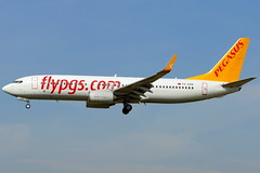 TC-CPP   737-804  Pegasus (Antonio Doblado) Tags: barcelona airplane aircraft pegasus aviation boeing airliner 737 b737 aviacin elprat tccpp