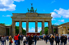 Brandenburg Gate - Berlin (slim studios) Tags: architecture germany europe sigma1850f28 nikond3100