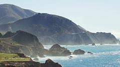 California along PCH (SLDdigital) Tags: ocean california mountains clouds surf bigsur surfing pch pacificocean pacificcoasthighway bigsurcoastline californialandscapes slddigital
