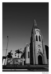 Church (Carlos E Corts Parra) Tags: urban church blackwhite iglesia urbano corrientes blanconegro empedrado
