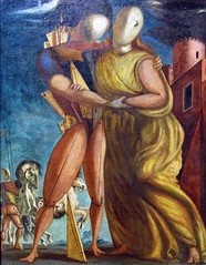 de Chirico - Hector and Andromache [1924] (petrus.agricola) Tags: de hector giorgio chirico pittura metafisica ettore andromaca andromache