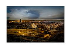 black gold (MvMiddendorf) Tags: wasted countryside mining coal goldrush stripmining wastedland opencastmining