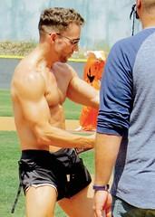 IMG_4465 (danimaniacs) Tags: shirtless man hot sexy guy pecs muscle muscular hunk stud stevesiler