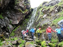 There must be an easier way. Anyone fancy a shower? - DSC06634 (JJC2008) Tags: eisc chuillinn reeks kerry bishopstown bhc gully