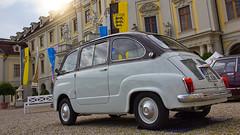 Fiat 600 D Multipla (1963) (FocusPocus Photography) Tags: auto classiccar vintagecar fiat historic 600 vehicle oldtimer carshow ludwigsburg historisch multipla automobil retroclassicsmeetsbarock